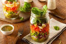 Salad jar ideas