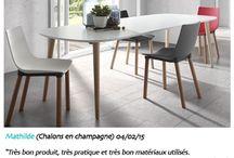 Coup de coeur | DECO MEUBLE / #deco #meuble #décoration #maison #home #idée #avis #conseil #truc #astuce #design #table #chaise