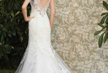 Wedding Gowns With Illusion Necklines & Backs