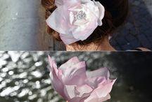 Bridal hair clip / Bridal hair clip