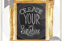 Chalkboard Art / by Chasity Cox