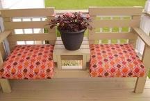 Bench for the garden