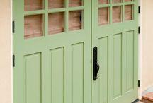 ideas / I like this style for wardrobe doors