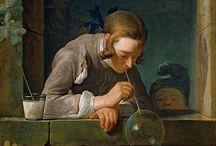 chardin / malarz; ludwik xiv;  sztuka francuska;