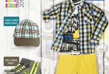 COCCODRILLO Zestaw z kolekcji CITY / Koszula, t-shirt oraz krótkie spodnie z kolekcji CITY