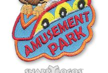 Trips and Tours Fun Patches
