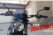 "the ""BLACK TRICK"" - Yamaha Tricker XG 250"