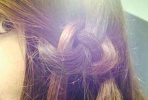 HAIR / Different hair styles in my hair