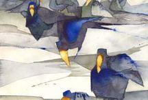 Anna törnqvist akvarell