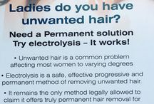 Electrolysis / Hair removal