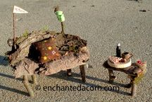 Fairy garden ideas / by Kay McCain