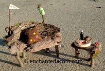 Fairy garden ideas / by Kay McCain