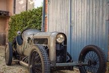 Old School Race Cars / The roots of race car heritage in its purest form and race car drivers who dared to explore extreme automotive engineering while exposed to the elements.