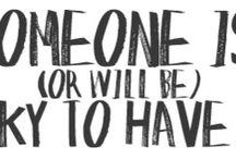 The words I like / by Jenny Taylor