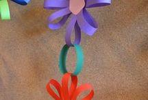 slingers van bloemen
