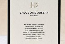 Letterpress Wedding Invitation Inspiration / by Cristina Minasian