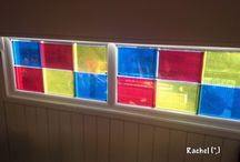 Lightbox & Colour / Light Opportunities in My Classroom / I have a homemade lightbox in my classroom & an OHP. These are some of the opportunities I have provided in my EYFS / Early Years /ECE classroom...