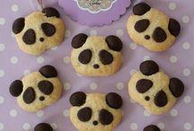 Panda kurabiyeler