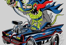 Rat Fink::::::: / by Dave Ferris