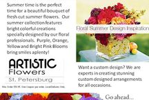 Whats Going On At ARtiStic FlOwErS? / Use this board to check out any and all of the Specials we have going on, any holidays that are coming up, this is where you find out what we have going on. Contact us, as always with any questions.