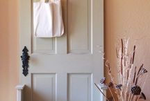 coat hanger - back entrance stoage ideas