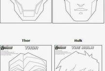 escudos de superhéroes