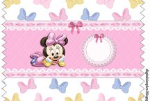 Kit minnie baby rosa