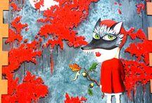 """#StreetArt / Non sei se sabedes pero Carballo é coñecido polos seus murais cheos de arte ou ese estilo coñecido como """"Street Art"""".  Votádelle unha ollada e compartide con nós os vosos Street art favoritos. ;-)"""
