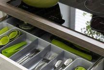 Наполнение кухонных ящиков