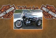 Harley-Davidsons