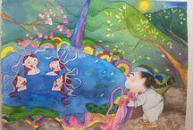 midoriK / midori drawing picture