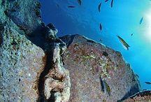 Senderos Submarinos / El submarinismo en San Andrés y Sauces. La Palma. Islas Canarias #charcoazul #alquiler de #apartamentos en #lapalma #islascanarias