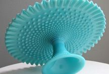 Fenton Turquoise Hobnail / by Marcia Franks