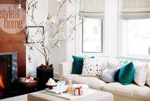 Christmas decor / Ideas de decoración para Navidad