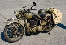 Despatch riders in 1940 / Dad was a despatch rider at Dunkirk. Great anecdote. Watch this space.