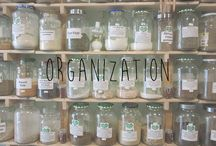 Organization / Life is chaos.  Organization is a better life.