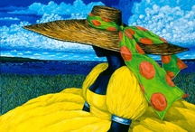 """Blue / """"There is no blue without yellow and without orange.""""  Vincent Van Gogh   / by Tami Leino Hanna"""