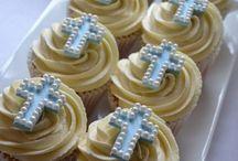 cupcakes de bautizo