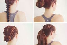 Sport hairstyles