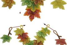 Yaprak kolye