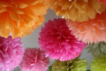 Tissue Flowers / Create flowers