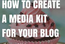 Travel Blogging - Media / Blogging social media, Instagram, Facebook, Pinterest, Twitter, how to create a media kit for your blog, how to grow your blog, newsletter ideas.