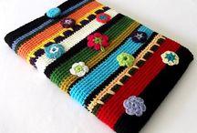 Crochet - gadget pouch