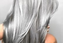 Graue haare
