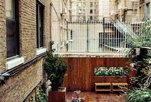 Terras en balkon