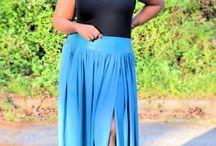 Plus Size Maxi Skirt / Fashion staple known as the Maxi Skirt!