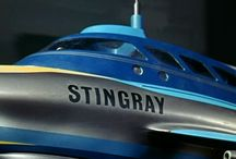 Gerry Anderson's Stingray / Photos from the classic show, the first colour TV series to be shot in the UK.
