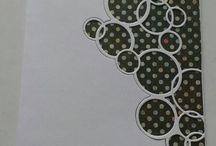 circle die background
