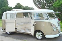VW wedding camper