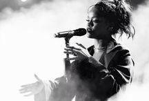 • Rihanna